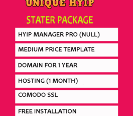 Stater Hyip Package
