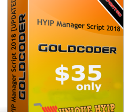 GC Hyip Manager Script (Nulled)- 2018