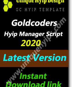goldcoders hyip script null